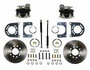 "Rear Disc Brake Kit Conversion Kit Standard Rotors 8"" or 9"" Small Bearing Axle 1964 1/2 - 1973"